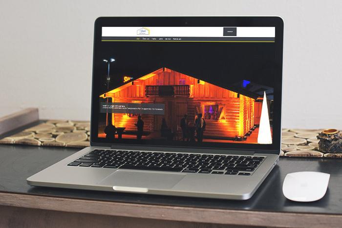 Neue Homepage für Zelte und Hallen Späth